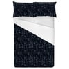 Indigo Knit Texture (Bed)