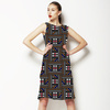 Geometric African Inspired Print (Dress)