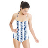 Dotted Inky Indigo (Swimsuit)