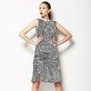 Hand Drawn Optical Design (028 B) (Dress)