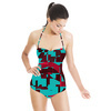 Geometric Shapes (Swimsuit)