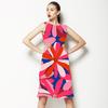 Pink Vector Flowers (Dress)