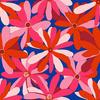 Pink Vector Flowers (Original)