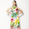 Vector Floral Scattered Flowers Bohemian (Dress)