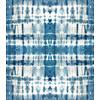 Indigo Blue Shibori Tie-Dye Pattern (Original)
