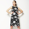 Linear Geo Floral (Dress)