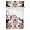 Soft Abstract Flowers Pastel Rococo (Bed)