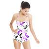 Purple Leaves (Swimsuit)