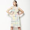 Colorful Watercolor Plaid (Dress)