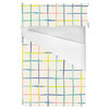 Colorful Watercolor Plaid (Bed)