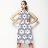 Alice Stripe Floral Tile (Dress)