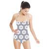 Alice Stripe Floral Tile (Swimsuit)
