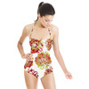 Embroidered FLowers (Swimsuit)