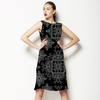 Black and White Ethnic Design (Dress)