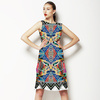 Mexican Inspired Hand Drawn Marks Pattern (Dress)