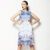 Indigo Palm (Dress)
