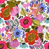 SS 2017 Painterly Florals Poppies (Original)
