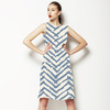 Brush Stroke Batik Chevron (Dress)