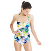 Dreamy Tropical Floral in Repeat (Swimsuit)