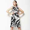 Black and White Marble (Dress)