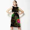 Midnight Garden - Folk Roses (Dress)