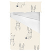 Hand Drawn Bunny Rabbits (Bed)
