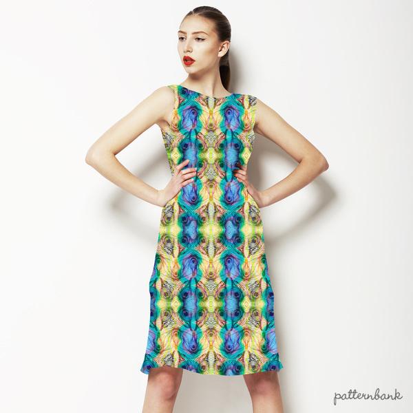 Peacock Pattern (Bpt0853)
