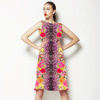 Skin and Flowers (Bpt0281) (Dress)