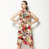 Retro Flowers (Bpt0664) (Dress)