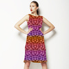 Fish Pattern (Bpj0010) (Dress)