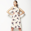 Tossed Stem Watercolor Floral (Dress)