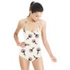 Tossed Stem Watercolor Floral (Swimsuit)