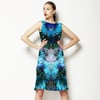 Blue Animal Skin (Dress)