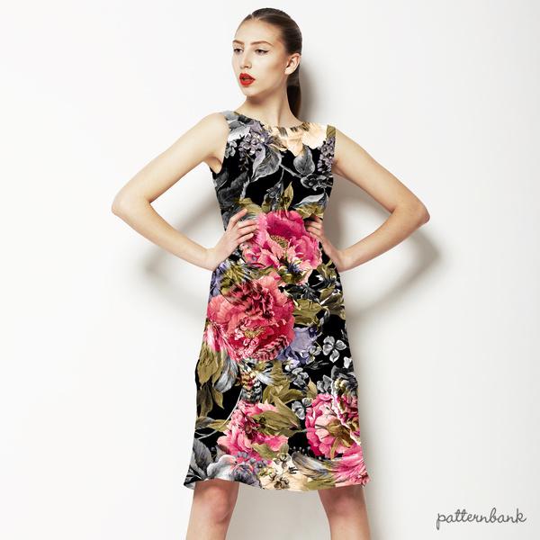 Seamless Floral Digital Pattern