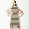 Mandalay Ornate Luxe Stripe (Dress)
