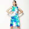 Blue Palm (Dress)