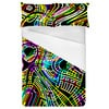 Colorful Camouflage Disco Party 60s 70s 80s Background 3 (Bed)