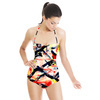 Hand Painted Abstract Texture (Swimsuit)