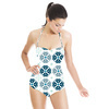 Winter Floral Tiles Collection8 (Swimsuit)