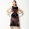 Chrysanthemum- Wine (Dress)
