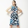 Abstract Textured Palm Tree (Dress)