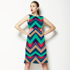 Zig Zag Ombre (Dress)