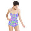 Resort Skins Pink Blue Green Vector (Swimsuit)