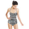 Woven Grid (Swimsuit)