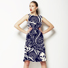 Paisley Pattern. Seamless Indian Pattern in Two Colors (Dress)