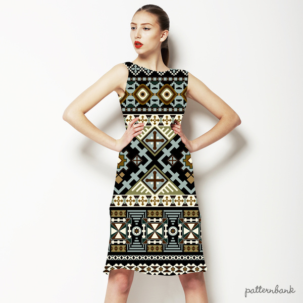 Seamless Geometrical Pattern. Ethnic Ornament