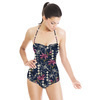 A/W Geo Tropical Shadowt (Swimsuit)