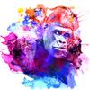 Gorilla Pattern (Original)