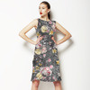 Distressed Digital Rose Floral (Dress)