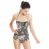 Distressed Digital Rose Floral (Swimsuit)